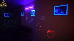 Ультрафиолетовая комната (светящиеся пигменты, технология создания краски)+подарок УФ грим - фото 5348