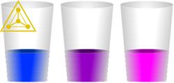 Цветные стаканы - фото 5688