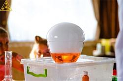 Огромный пузырь или яйцо динозавра (Шоу с сухим льдом ) - фото 5962
