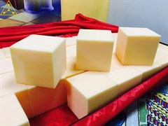 Поролоновые кубики (100 шт)
