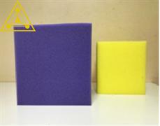 Поролоновые Кубики 25 см  (два цвета)