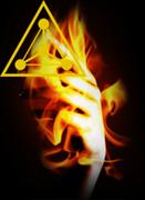 Пена Змея Горыныча (огонь в руке)