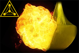 Взрыв водородного шарика