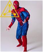Костюм для аниматора «Человек Паук»