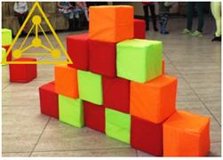 """Набор кубиков с чехлами и сумками """"ПЕРВЫЙ"""""""