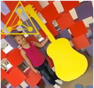 Поролоновая гитара