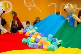 Поролоновые кубики 10 см