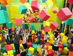 Поролоновые кубики 33 см