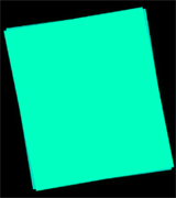 Светящаяся бумага формат А4 (1 шт.+УФ фонарик)
